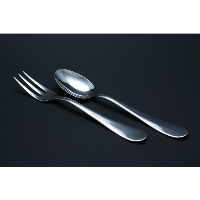 Fourchette de service à légumes en inox 18/10