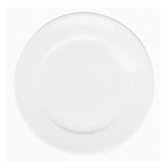 Assiette plate ronde blanche 21,5cm en porcelaine - Paris - Pillivuyt
