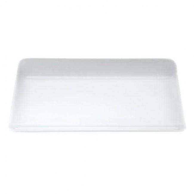 Assiette rectangulaire en porcelaine blanche 28x18cm - Vendôme - Pillivuyt