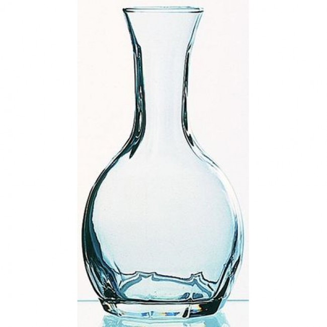 Carafe en verre - Carafe unie col moulé 25cl - A l'unité - Paname - La Rochère