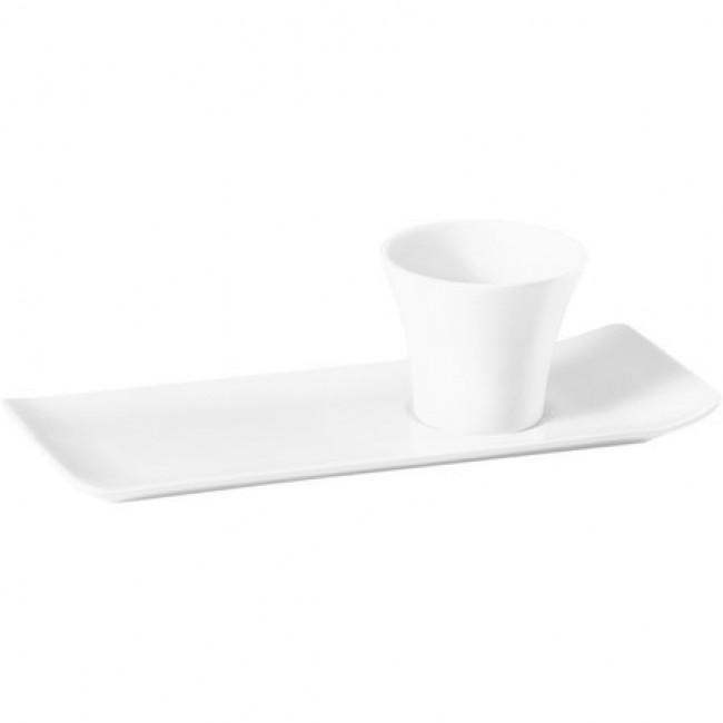Gobelet blanc 8cl en porcelaine - Vendôme - Pillivuyt