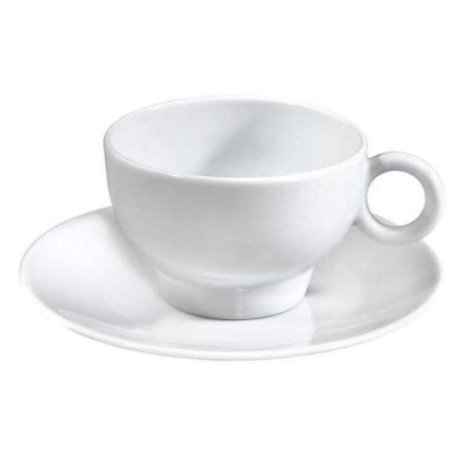 Soucoupe à déjeuner blanche 16,5cm en porcelaine - Louna - Pillivuyt