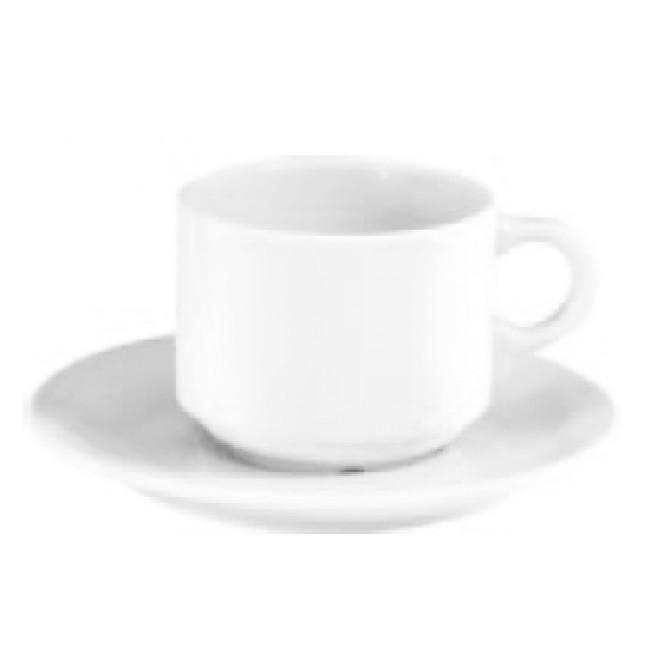 Tasse à thé 18cl blanche en porcelaine - Europe - Pillivuyt