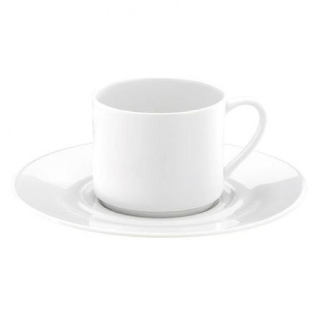 Tasse à thé blanche 18cl en porcelaine - Valencay - Pillivuyt