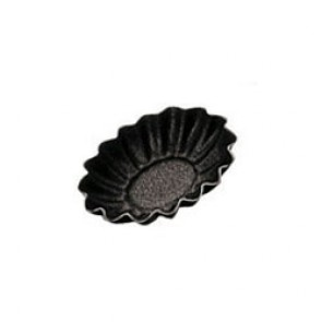 Moule à mini tartelette ovale / barquette 4,5cm x 3,5cm - Paderno