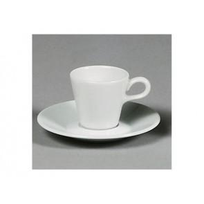 Sous-tasse à café blanche 13cm