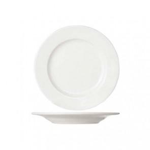 Assiette à pain blanc crème ronde 15cm porcelaine - Lot de 6 - Buffet - Cosy & Trendy