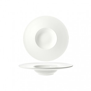 Coupelle hors d'oeuvre ronde blanche 14.8cm - Rings - Cosy & Trendy