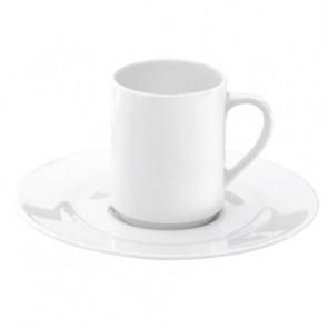 Soucoupe à moka blanche 13,2cm en porcelaine - Valencay - Pillivuyt