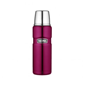 Bouteille isotherme inox 47cl framboise - King - Thermos
