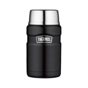 Porte aliment isotherme 71cl noir mat - King - Thermos