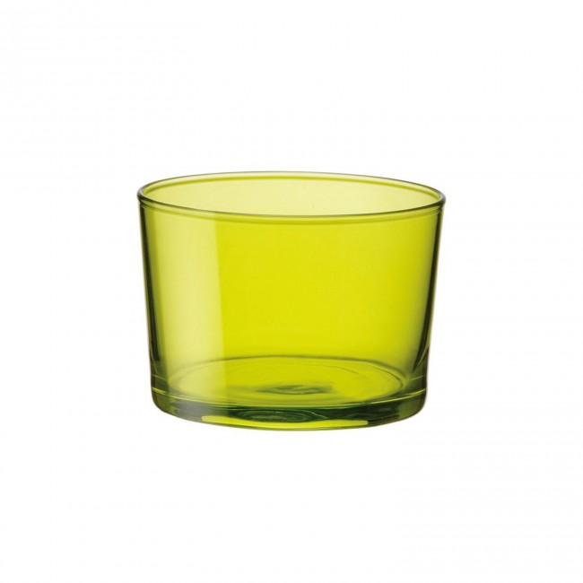 Mini verrine verte - Verre bodega - 20 cl - Lot de 3