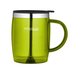 Desk mug isotherme 45cl lime - Thermocafé - Thermos