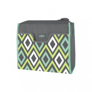 Sac isotherme 8L rectangle gris et vert - Raya Premium Harlan - Thermos
