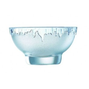 Coupe à glace transparente - Lot de 6