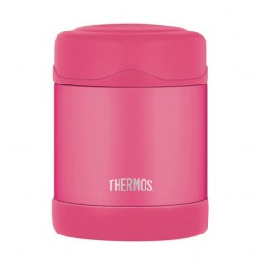 Porte-aliment isotherme inox 29cl rose - Funtainer - Thermos