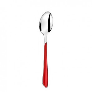 cuillere de table rouge en inox 18/0 2mm - eclat rouge - amefa
