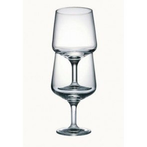 Verre à vin à pied empilable 22cl - Lot de 6 - Colosseo - Bormioli Rocco
