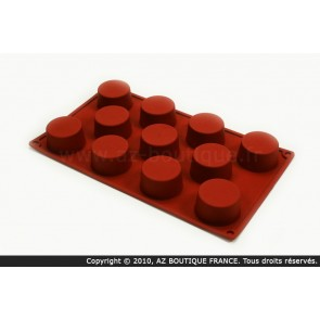 Moule flexible en silicone - 11 mini-muffins - Flexipad - Paderno