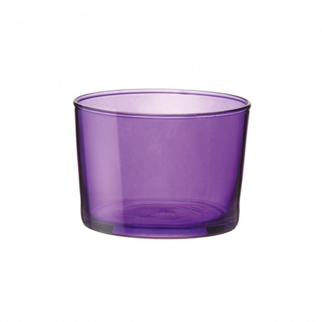 Mini verrine mauve - Verre bodega - 20 cl - Lot de 3