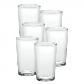 Verre conique / chope 28cl - Lot de 6 - Unie - Duralex