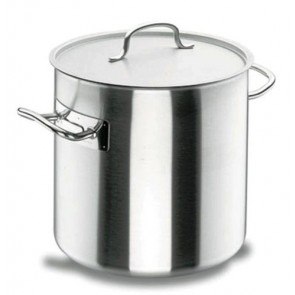 Marmite traiteur induction à couvercle inox 18/10 - Ø 24 cm - Chef Classic - Lacor