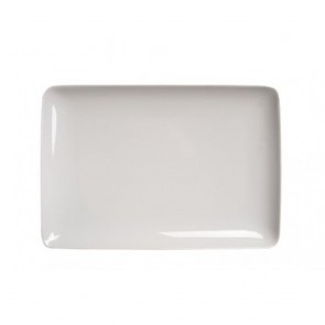 Assiette plate rectangulaire 34x26cm blanche - Modulo - Guy Degrenne