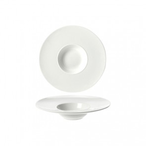Coupelle hors d'oeuvre ronde blanche 18.3cm - Rings - Cosy & Trendy