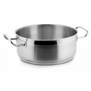 Marmite basse - rondeau induction en inox 18/10 - Ø 16 cm - Eco Chef - Lacor