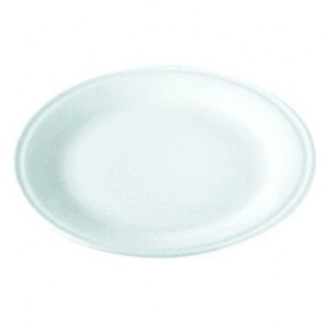 Assiette à pizza porcelaine blanche 30cm - Pillivuyt